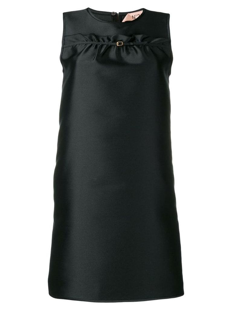 Nº21 sleeveless party dress - Black