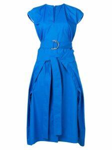 Eudon Choi strap tie dress - Blue
