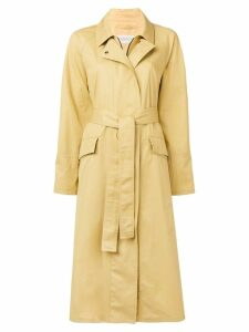 Holland & Holland belted trench coat - Yellow