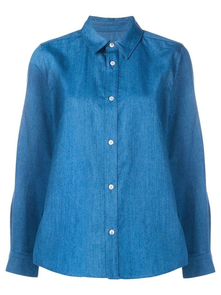A.P.C. button-up shirt - Blue