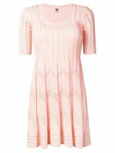 M Missoni flared knit dress - Pink