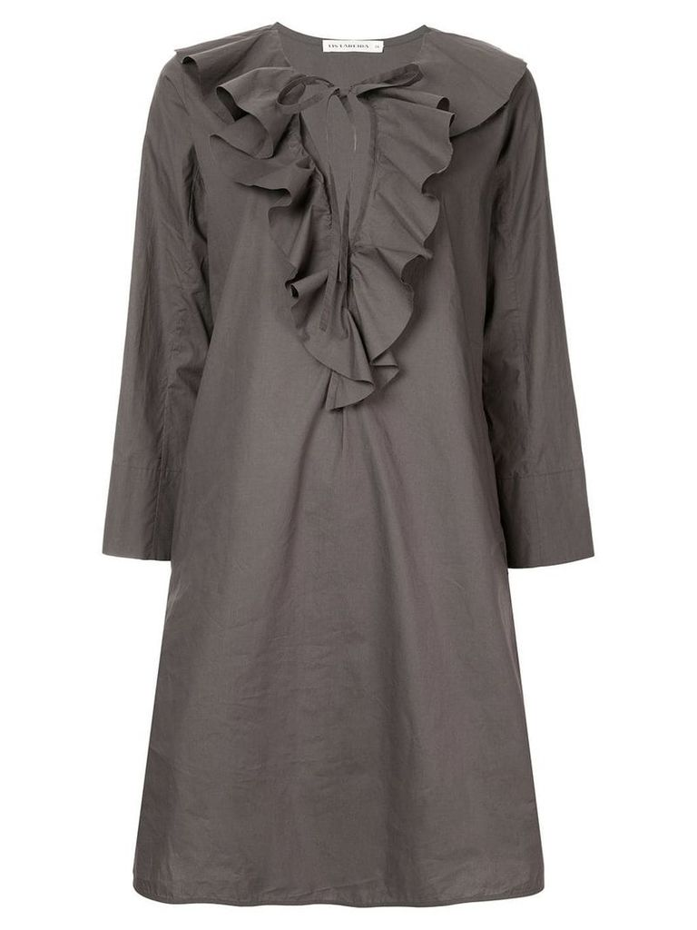 Lis Lareida ruffled dress - Grey