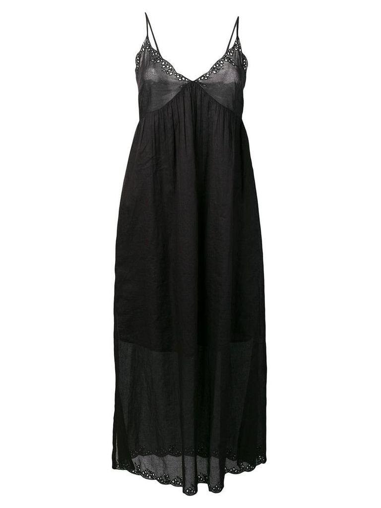 Semicouture Clinton maxi dress - Black