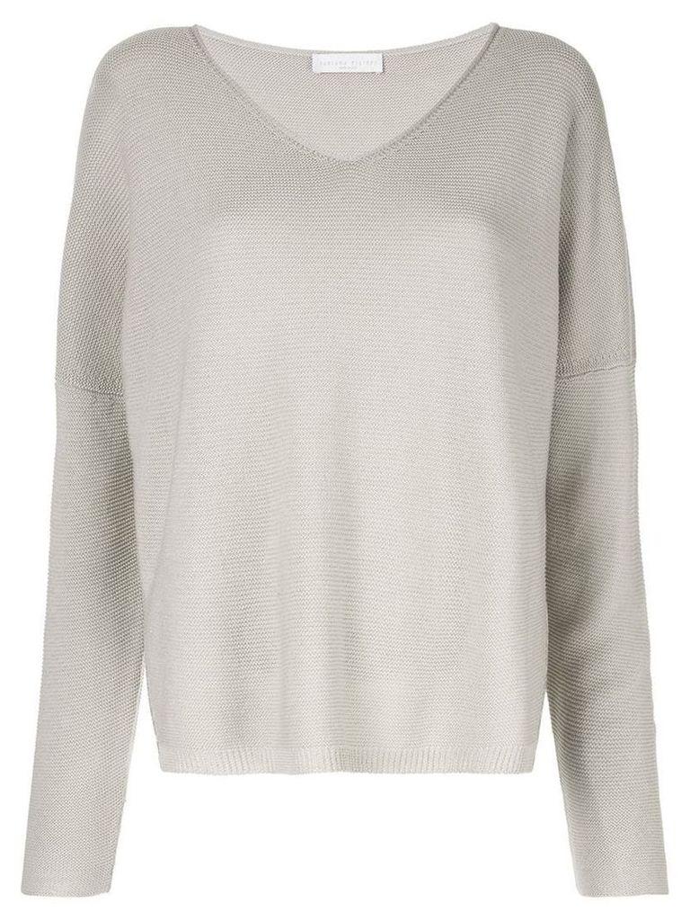 Fabiana Filippi v-neck sweater - Grey