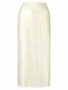 Marni high waisted skirt - White