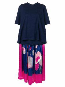 Junya Watanabe two part dress - Blue