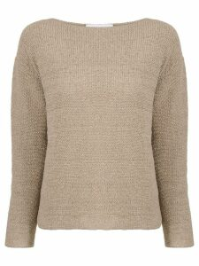 Fabiana Filippi knitted sweater - Brown
