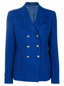 Tagliatore double breasted blazer - Blue