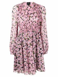 Giambattista Valli floral print dress - Pink