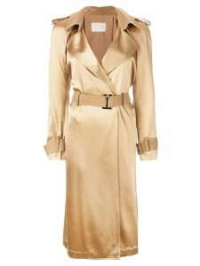 Dion Lee trench coat - Brown