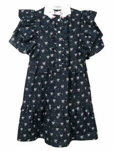 Vivetta ruffled shirt dress - Blue