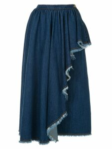 Karen Walker Siegbert skirt - Blue