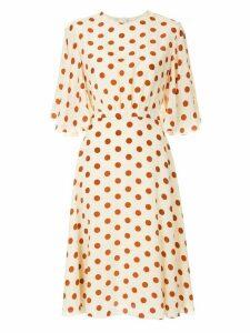 Karen Walker Poisoned Pawn dress - NEUTRALS