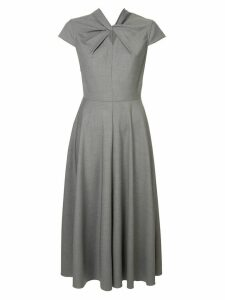 Karen Walker Queen's Bishop dress - Grey