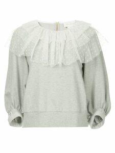 Karen Walker En Passant sweatshirt - Grey