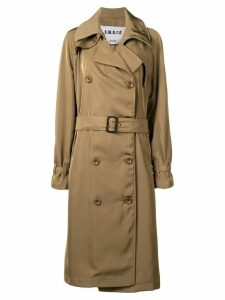 S.W.O.R.D 6.6.44 belted trench coat - NEUTRALS