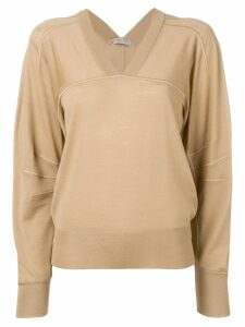 Bottega Veneta v-neck jumper - Neutrals