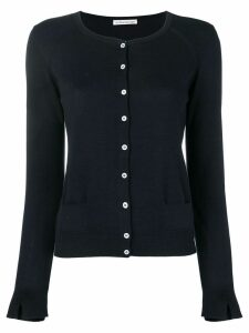 Stefano Mortari long-sleeve fitted cardigan - Blue