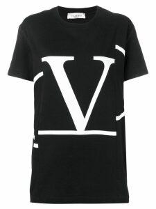 Valentino deconstructed VLOGO T-shirt - Black