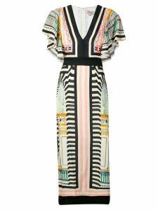 Temperley London Obelisk dress - Black