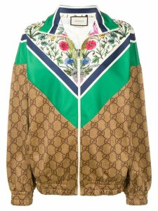Gucci GG technical jersey sweatshirt - Neutrals