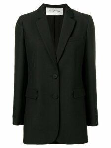 Valentino crepe couture blazer - Black