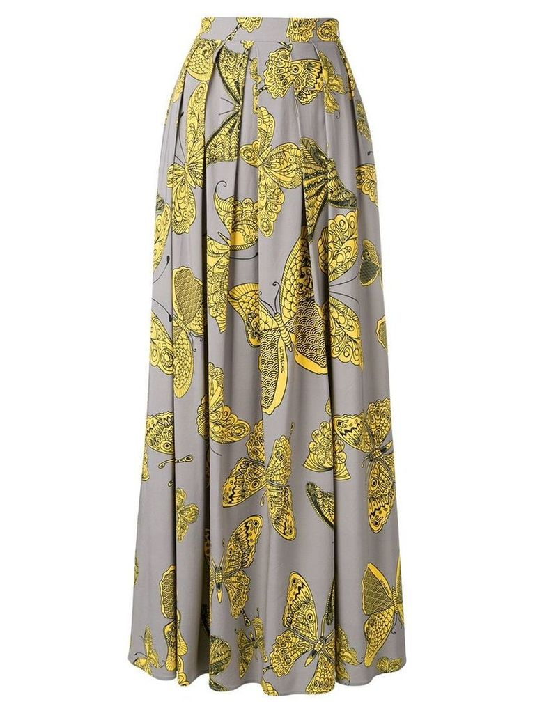 Ultràchic butterfly print skirt - Grey