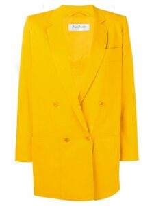 Max Mara double breasted blazer - Yellow