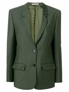 Bottega Veneta single breasted blazer - Green