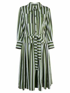 Carolina Herrera striped shirt dress - Green