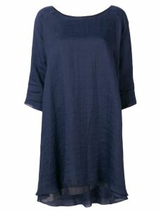 Apuntob layered dress - Blue