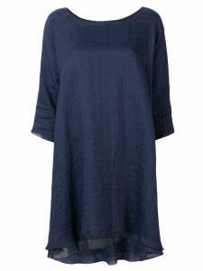Apuntob layered dress - Blue