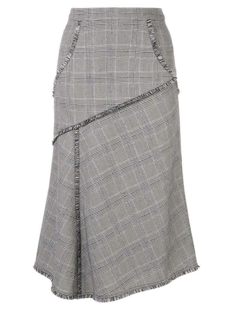 Rebecca Vallance Fontaine midi skirt - Grey