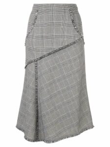 Rebecca Vallance Fontaine midi skirt - Grey