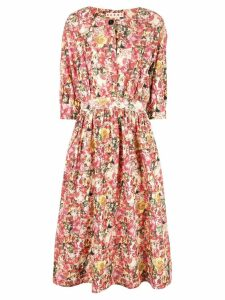 Marni floral print dress - Multicolour