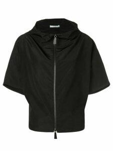 Dusan zip front jacket - Black