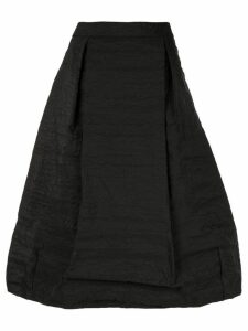 Simone Rocha full pleated midi skirt - Black