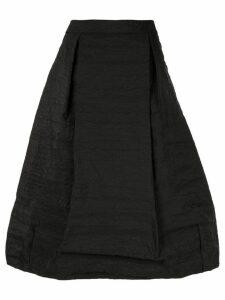 Simone Rocha full pleated midi skirt - Black