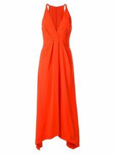 Dion Lee suspended loop dress - ORANGE