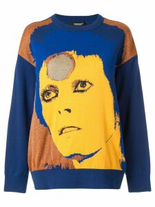 Undercover blue Bowie sweater