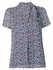 Michael Michael Kors heart print blouse - Blue