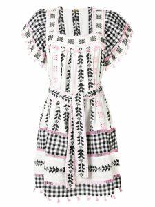 Dodo Bar Or tassel detailed belted dress - White