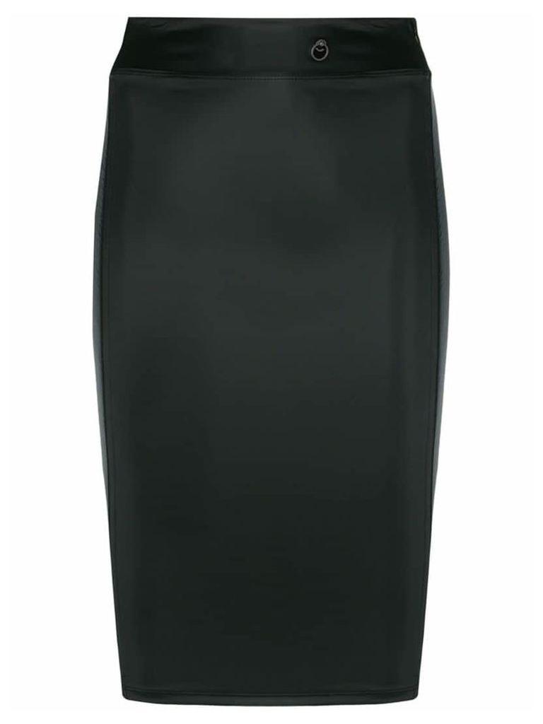 Maison Close Chambre shape skirt - Black