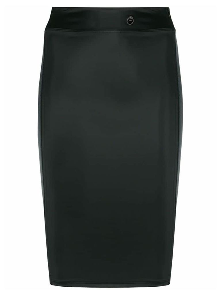 Maison Close Chambre shape skirt - Black