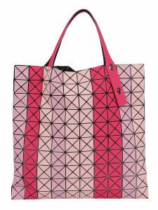 Bao Bao Issey Miyake Striped Prism Shopper Bag