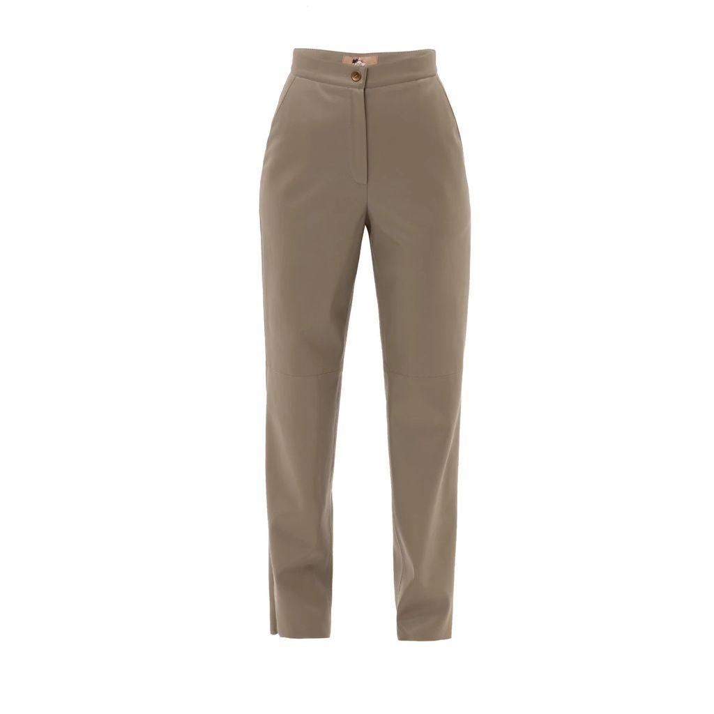 UNDRESS - Latika Yellow Green Maxi Shirt Dress