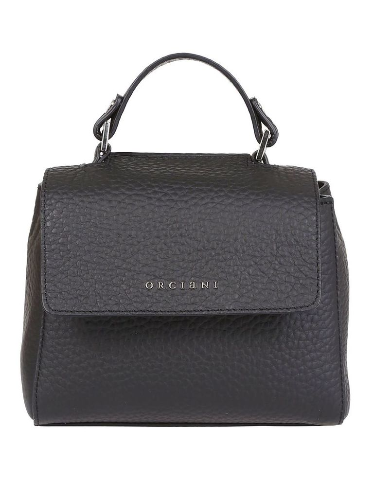 Orciani Small Pebbled Shoulder Bag