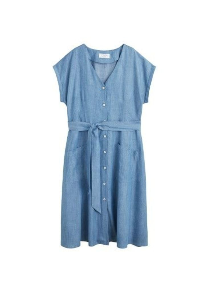 Buttons soft dress