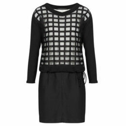 Mado Et Les Autres  Feminine dress, on-trend  women's Dress in Black