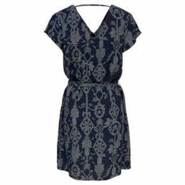 Only  VESTIDO  women's Dress in Blue